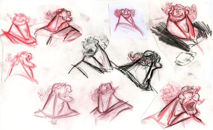 BRAVE-Concept-Art-Fergus-Facial-Expressions